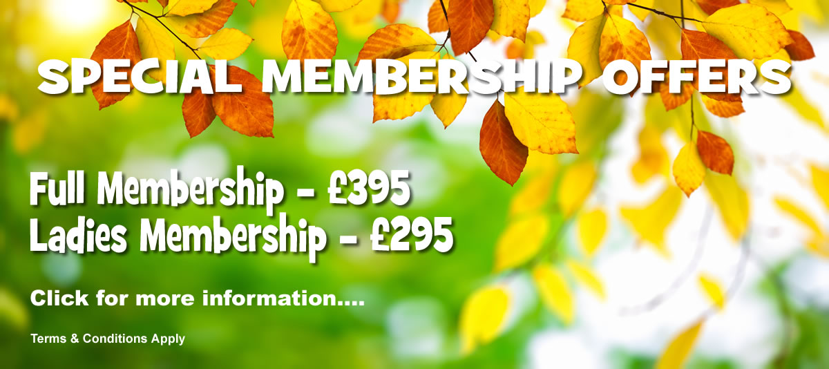 Full Member offer is £395 and the Ladies is £295