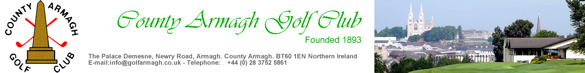 County Armagh Golf Club Northern Ireland